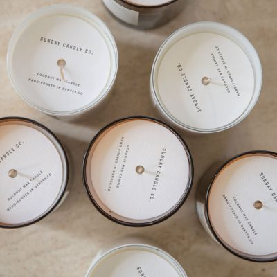February's Featured Brand: Meet Sunday Candle Co.